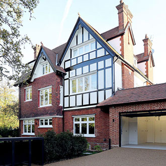 roehampton house conversion and rear extension
